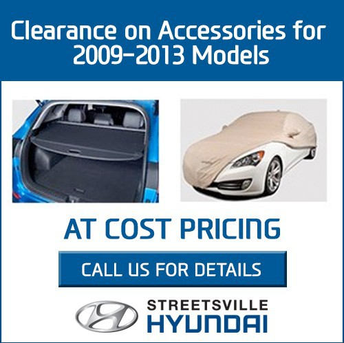 Clearance on Accessories for 2009-2013 Models