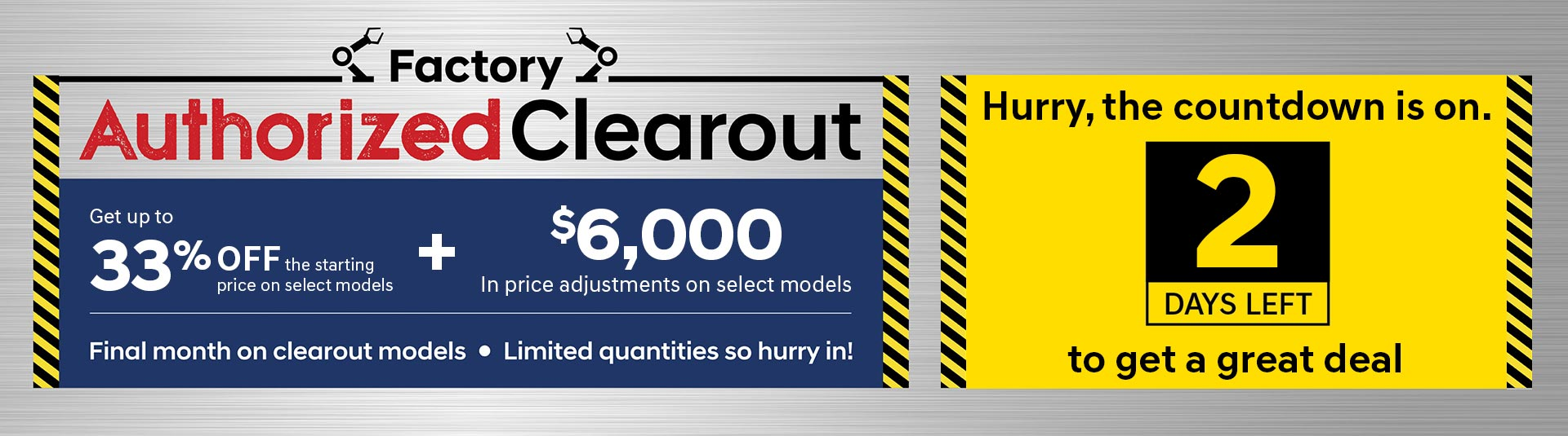 Hyundai Clearout Count Down