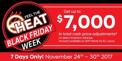 Black Friday at Streetsville Hyundai