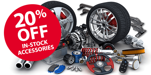 20% OFF in-stock Accessories