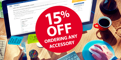 15% OFF Ordering Any Accessories