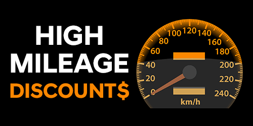 HIGH MILEAGE DISCOUNTS