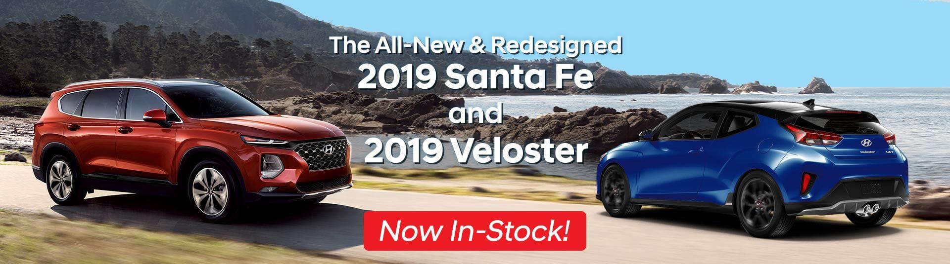 Hyundai Santa Fe & Veloster