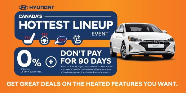 Hyundai Canada's Hottest Lineup Event