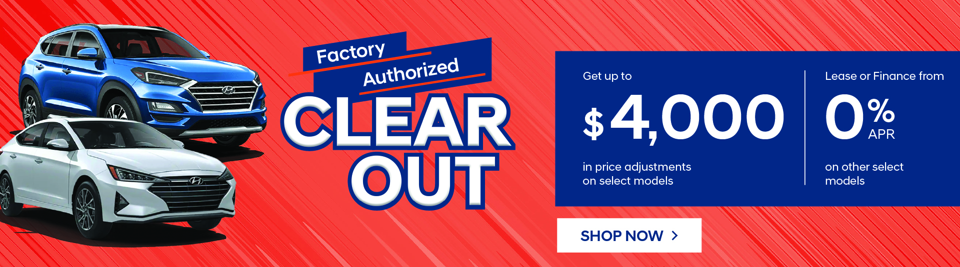 Hyundai Factory Clearout Event in Mississauga